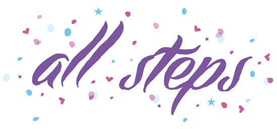 All steps first dance logo