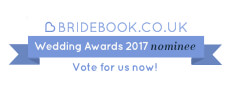Bridebook 2017 Wedding awards