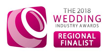 2017 Wedding awards and Bridebook nominee